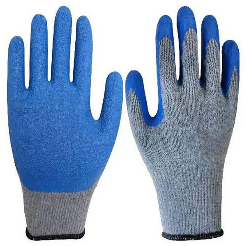 燕舞 JCYCJ2018ST41172纱+乳胶手套蓝色(单位:副)