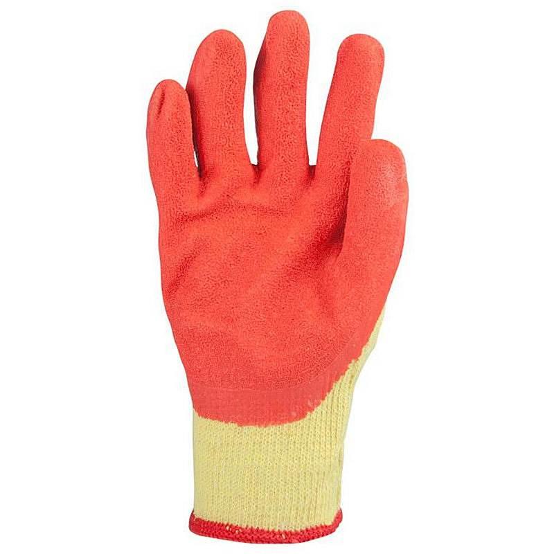 燕舞 JCYCJ2018ST41174尼龙+乳胶手套红色(单位:副)