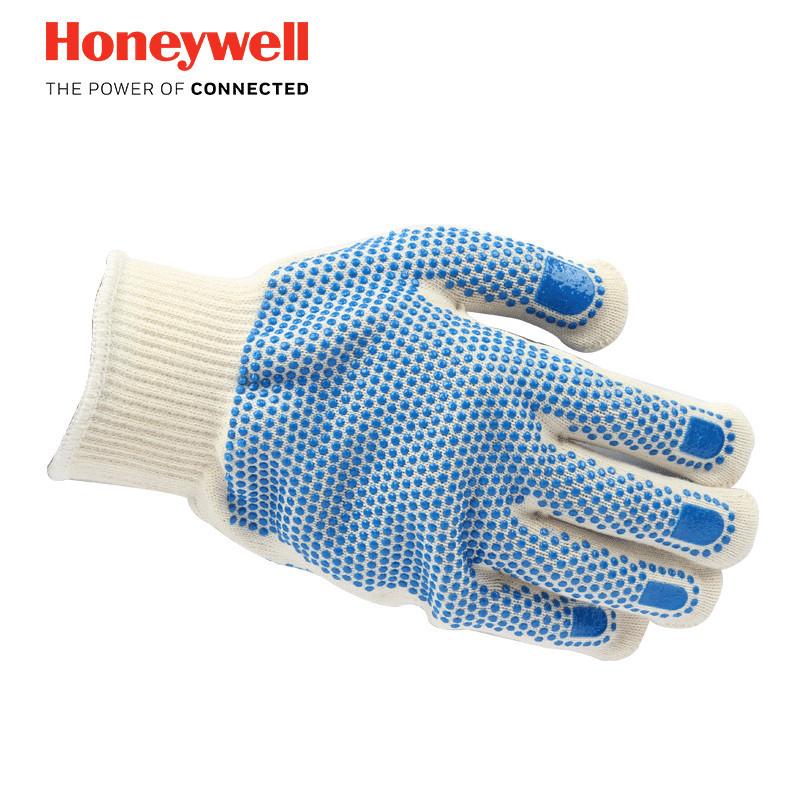 霍尼韦尔2232092CN双面点塑防滑工作手套(双)
