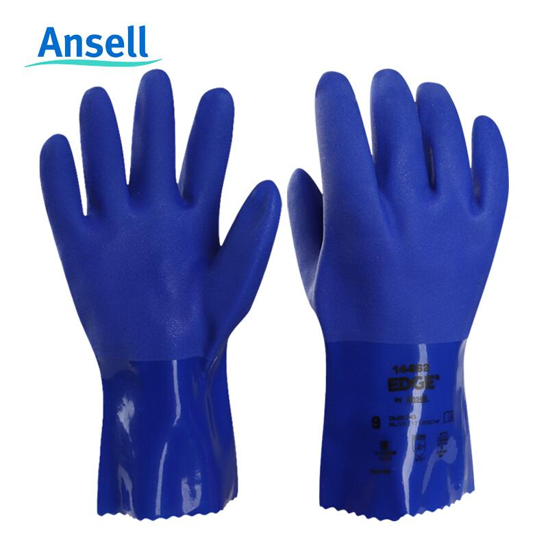 ansell\PVC全浸塑手套(耐油手套)\尺码10\型号14-662(单位:副)