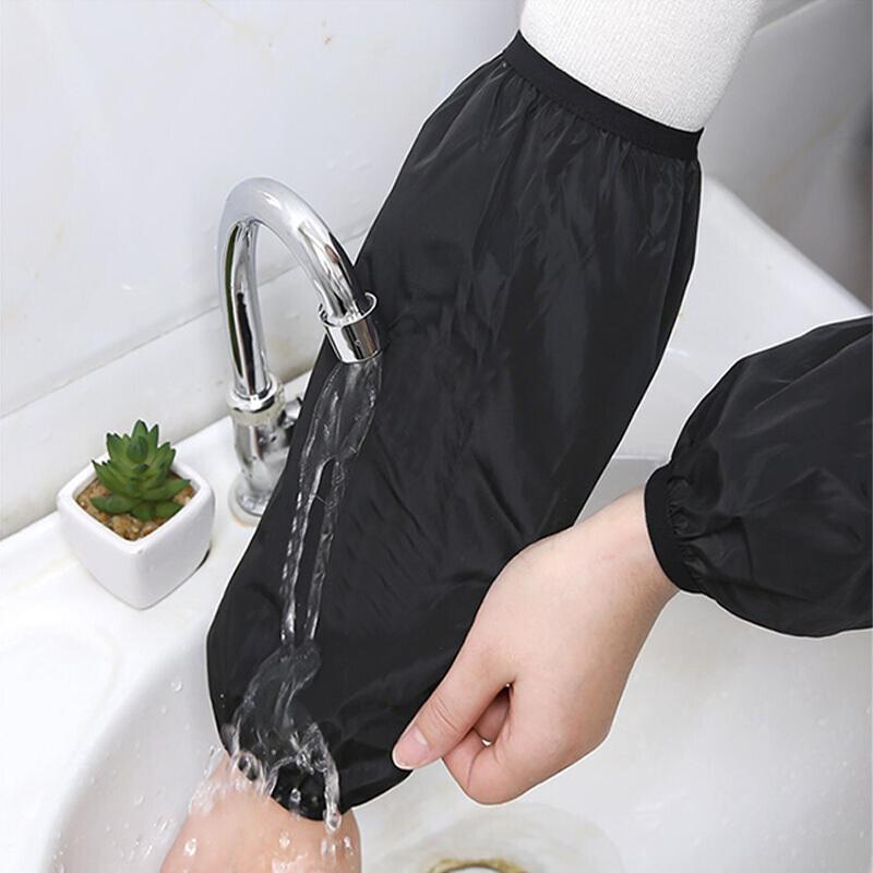 黛恒33cm防水防油袖套黑色 均码一付(单位:付)