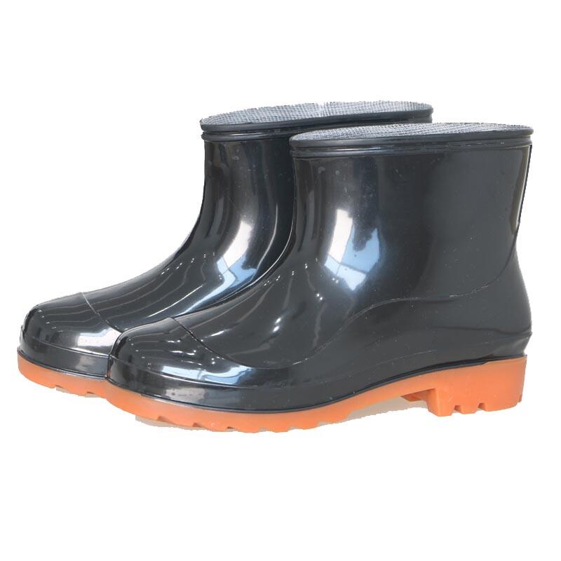九州缘 JZYCJ2018YX66709男女雨鞋黑色(单位:双)