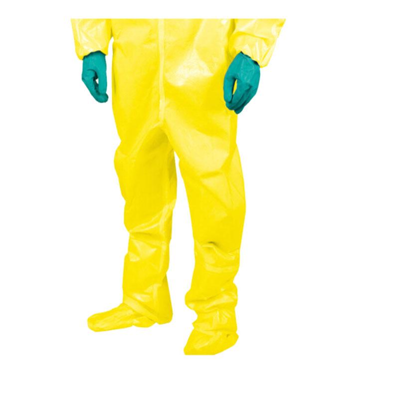 雷克兰 CT4SY450 凯麦斯4呼吸器内置式型防化服 (计价单位:件) 黄色 (定制工期55天)