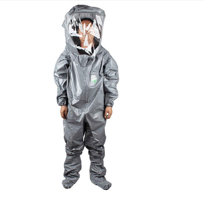 雷克兰 CT3S450G B级防化服呼吸器内置式 (计价单位:件) 灰色 (定制工期55天)