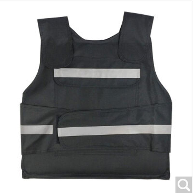 丛林狐 带反光条防刺服 软质款黑色(件)