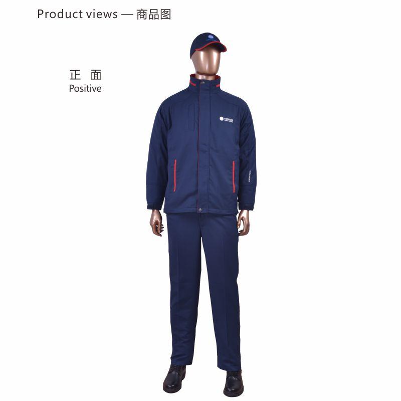 安大叔 CMCC-017男长袖防静电工作服套装藏青S-4XL (单位:件)