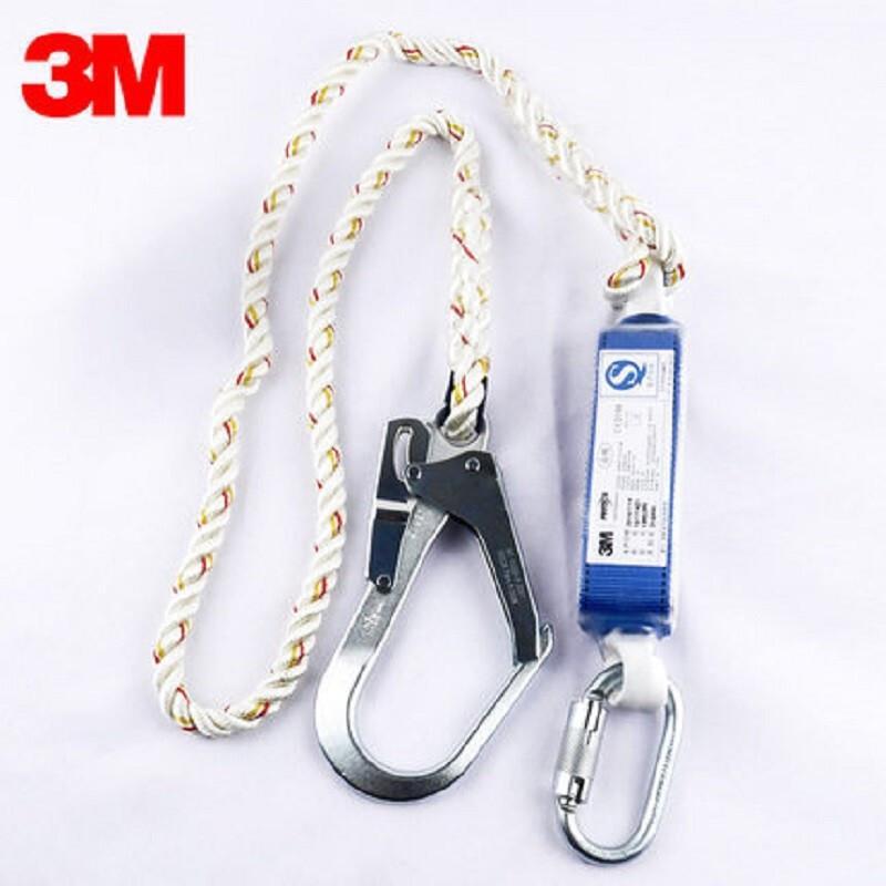 3M凯比特1390399/First单钩减震安全绳配1个16毫米开口自锁安全钩1个50毫米大挂钩 (条)