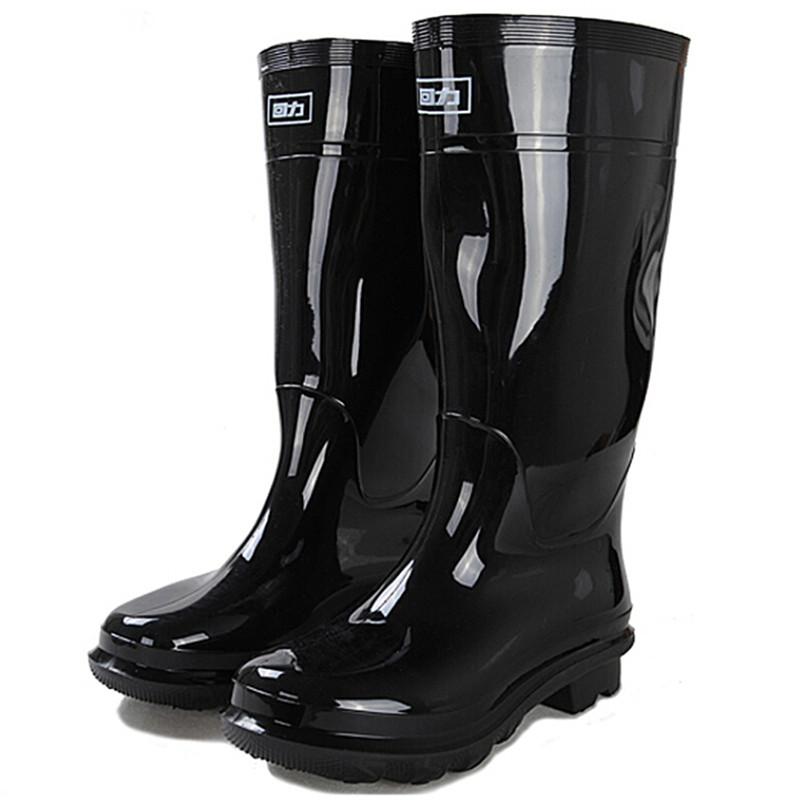 回力 HXL-818高筒雨鞋黑色39-44码(单位:双)