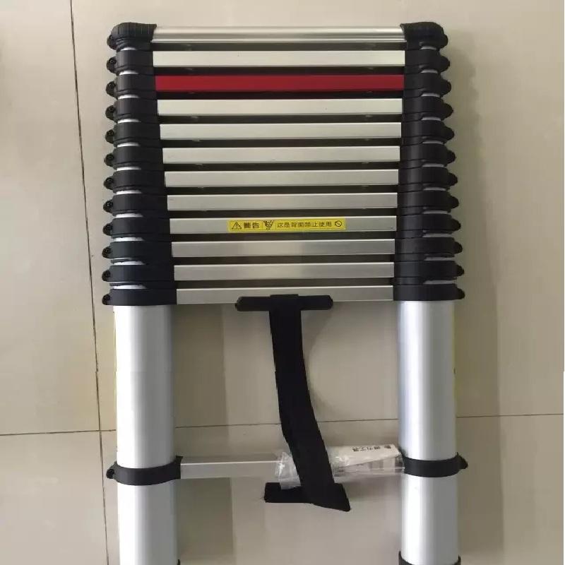 得力工具 DL-ZT638伸缩梯铝合金3.8m