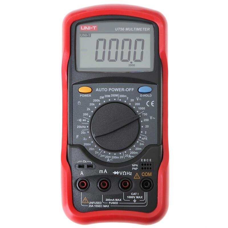 优利德 UT56 万用表 电动工具 (单位:个)