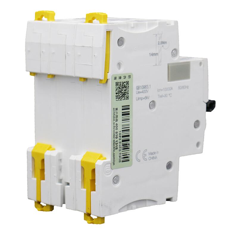 施耐德 微型断路器 IC65H 3P D25A A9F29325 个