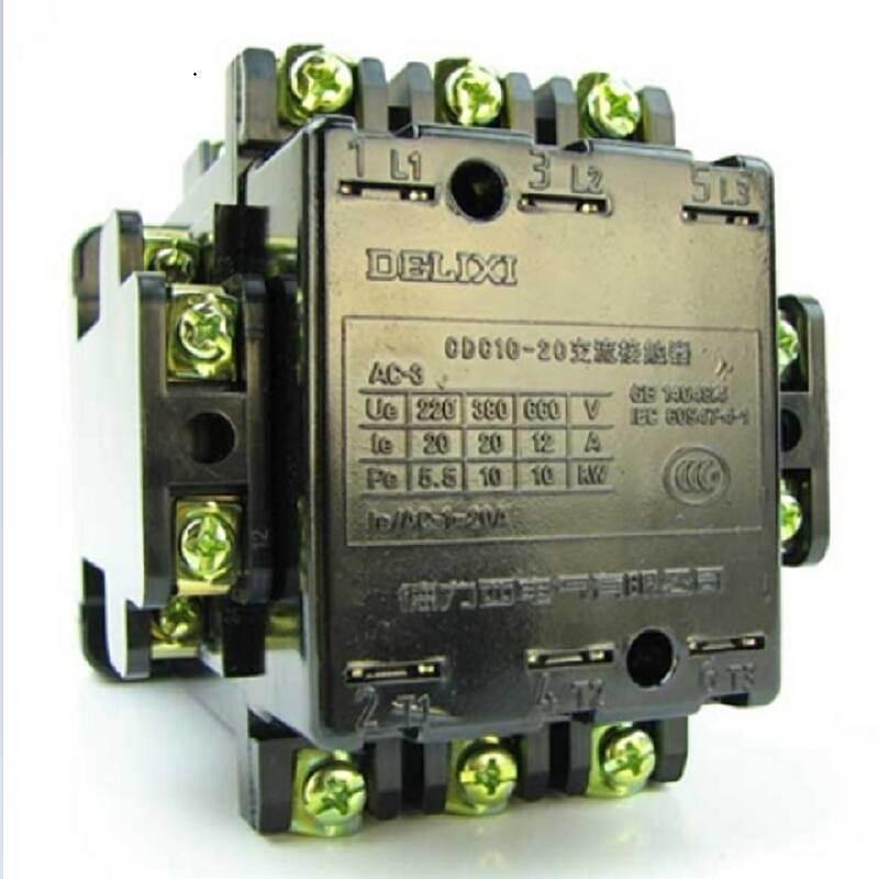德力西 交流接触器 CDC10-20 127V CDC102022S 个