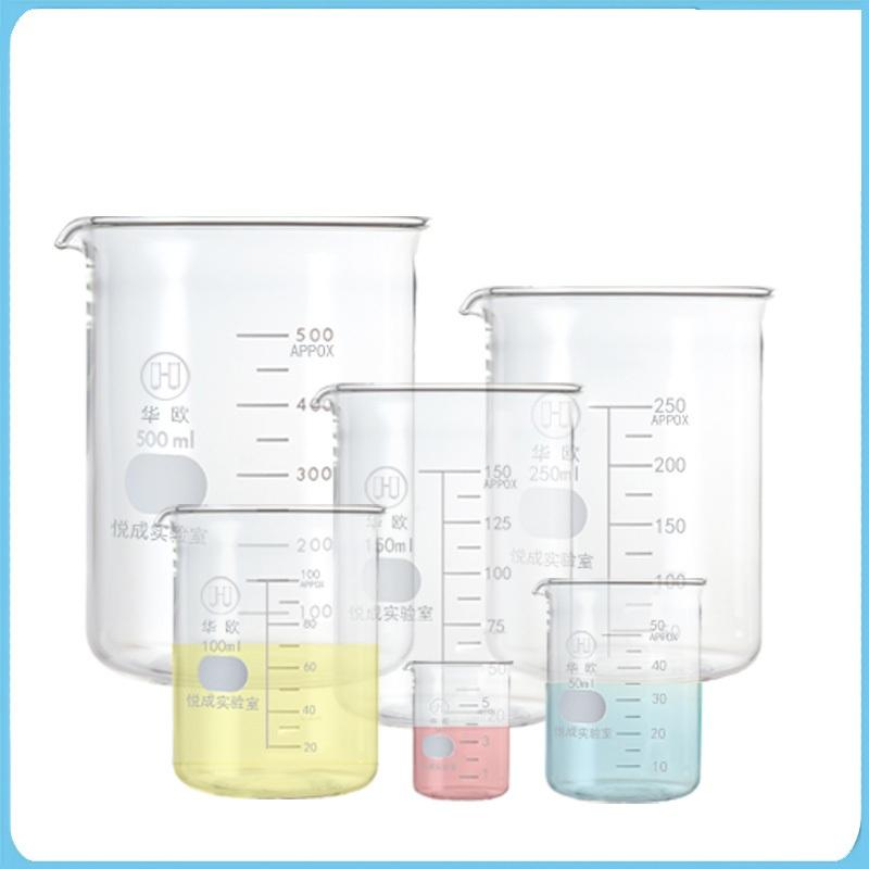 GC 500ML玻璃烧杯高硼硅72个/箱 (单位:箱)
