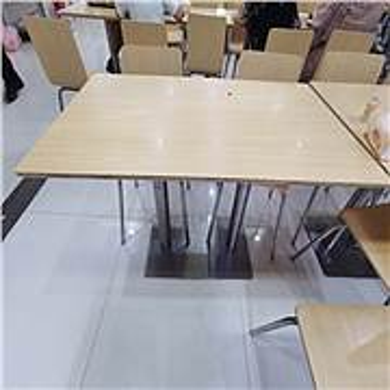 博采JSH-132快餐桌红1200*600*750(个)