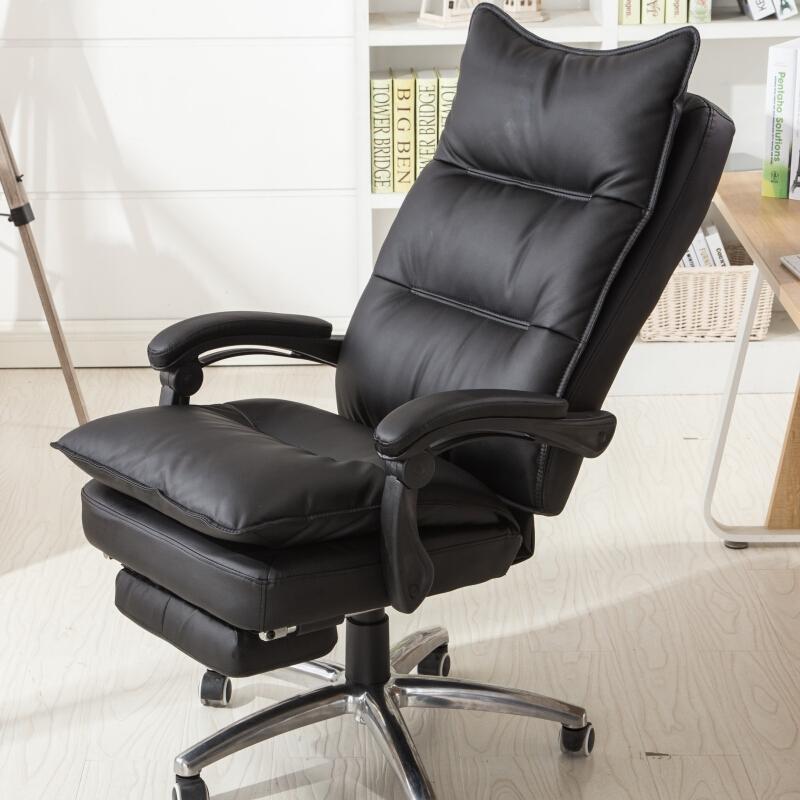 圣斯顿SD-YBT9830真皮办公椅1200-1280*500*620mm(单位:张)黑色