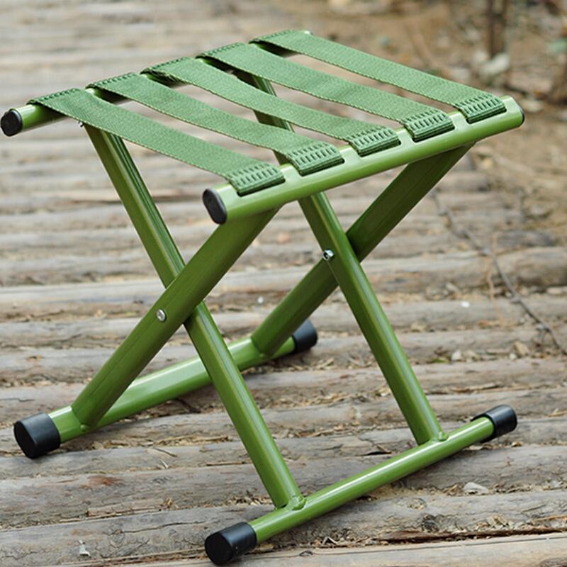 卡瓦图ASD045小马扎折叠凳子军绿色28*29*24.5cm(个)