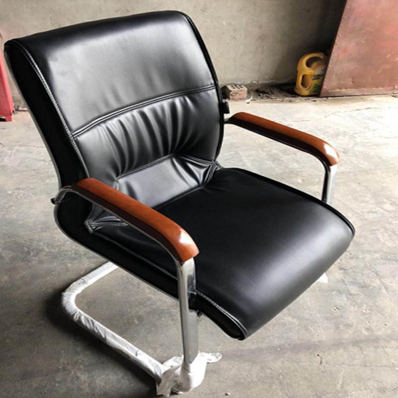 博采富利莱弓形西皮班前椅黑色(单位:把)