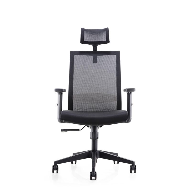 洛克菲勒CH-179A-LP人体工学椅网椅黑色635*675*1115-1215mm(把)