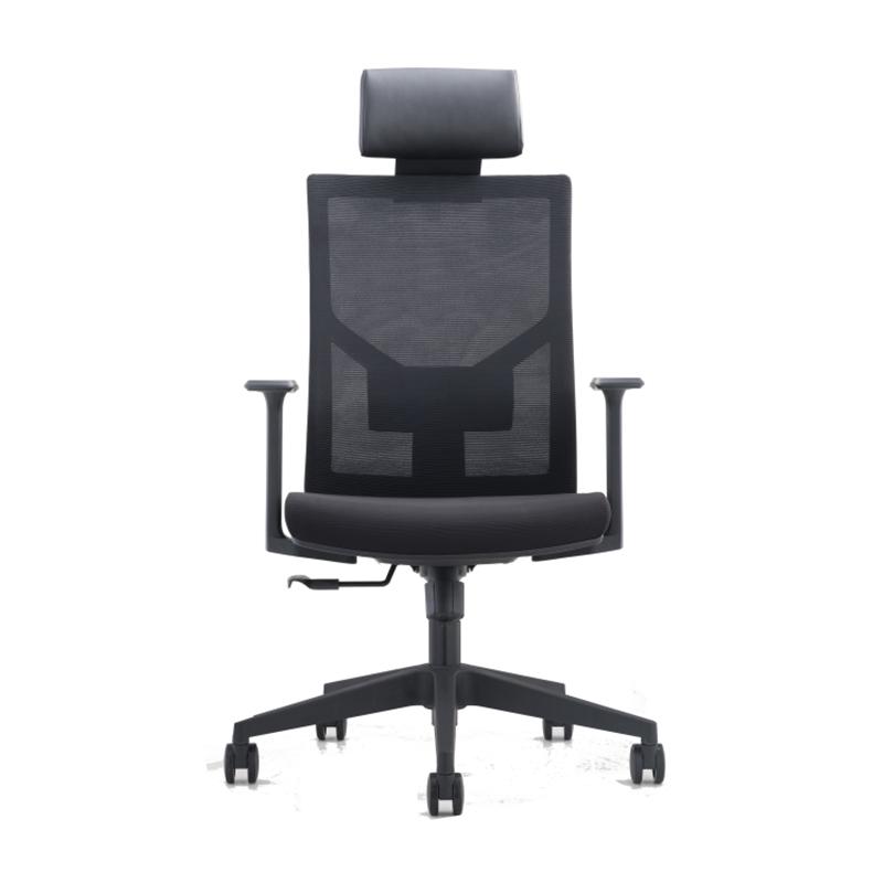 洛克菲勒CH-226A-LP人体工学椅网椅黑色645*695*1185-1285mm(把)