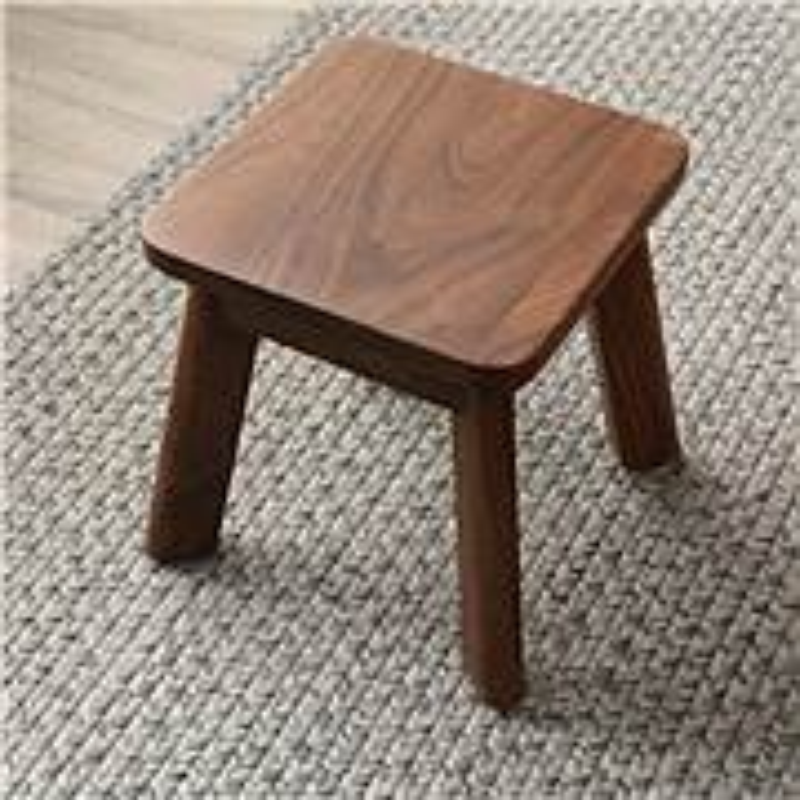致典MY-001实木小凳子小板凳换鞋凳[长26cm*宽26cm*高27cm](单位:个)