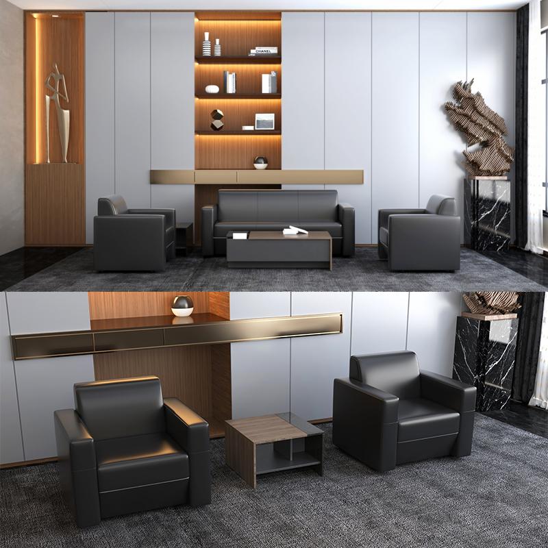 得力普乐士SDBLZ01主管沙发宝石黑900*770*825mm(个)