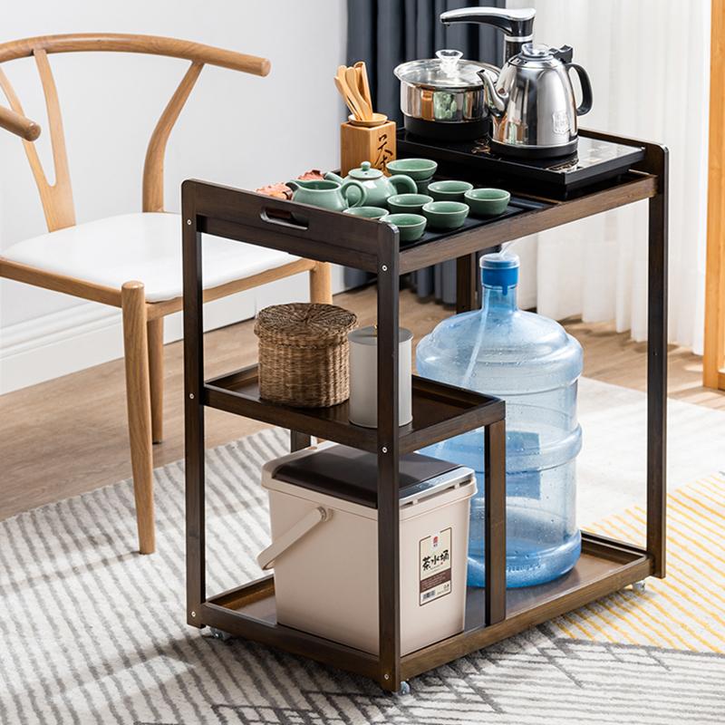 工来工往YDCJ012茶几移动桌家用新中式简约现代茶具65*42*74cm(个)