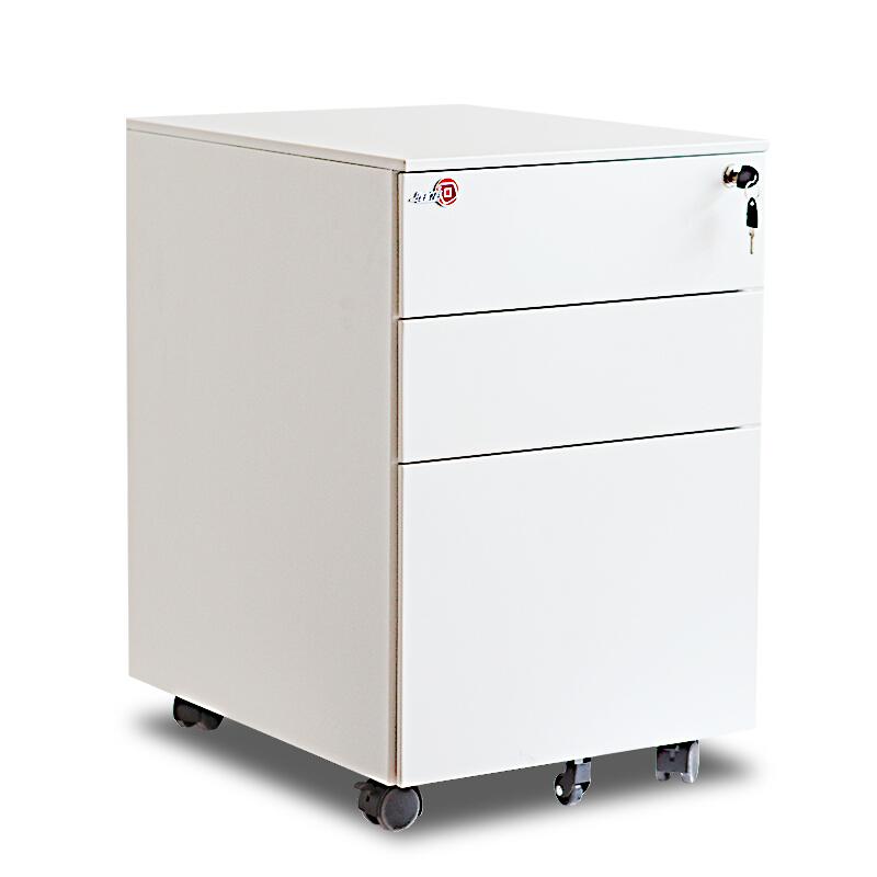 钱柜6240944厚0.8mm活动铁皮柜白色610*390*500mm(个)