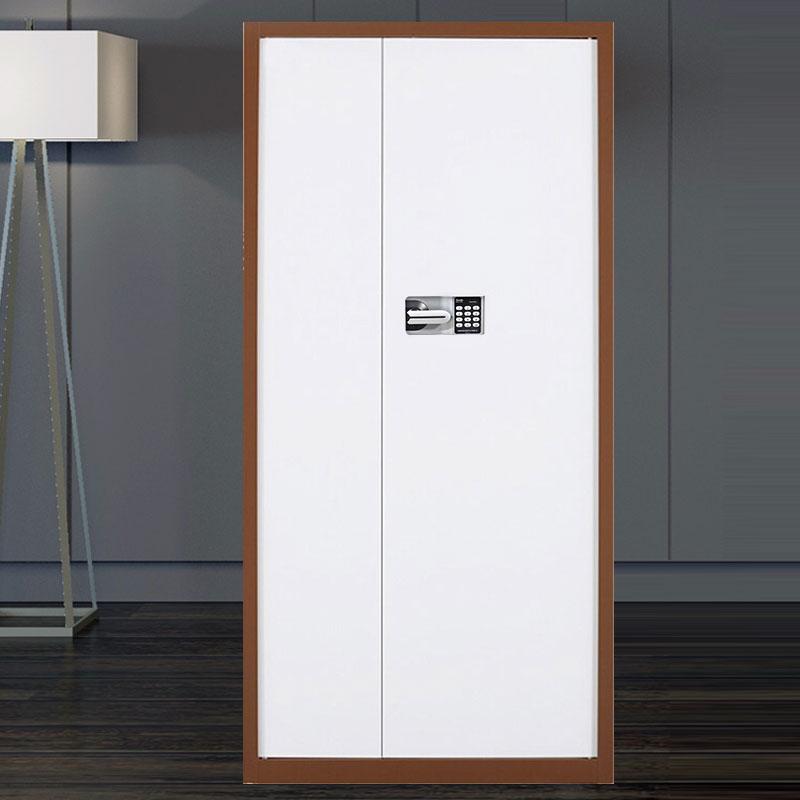 洛克菲勒LK-0611-BR咖啡套白通门二斗密码锁保密柜1.0mm冷轧钢板1900*900*430mm(台)