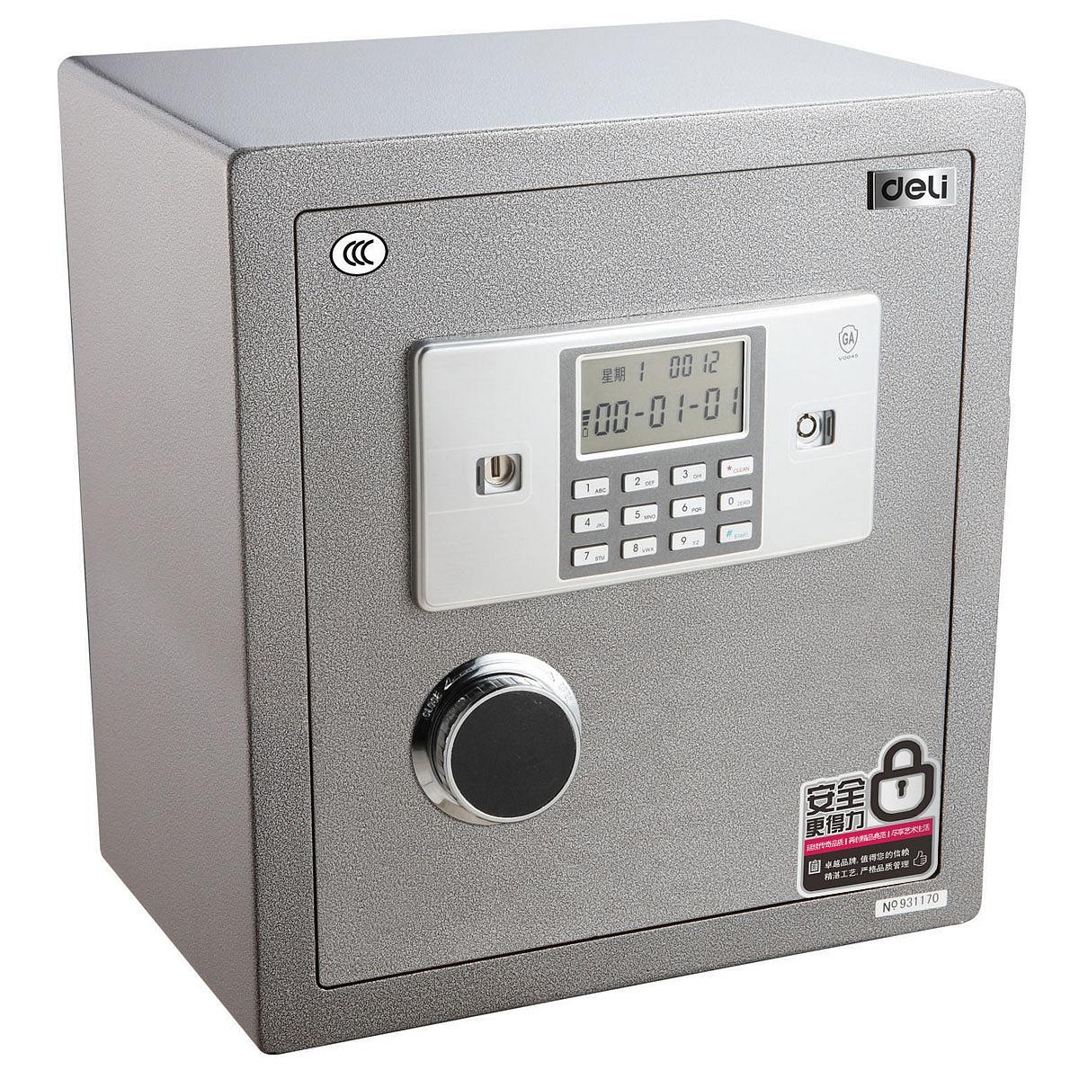 得力 3613-3C 电子保险箱 (单位:台) 银灰