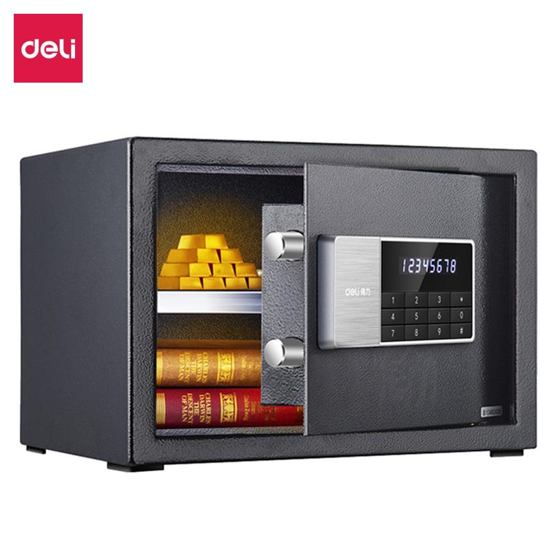 得力92619电子密码保管箱(黑)(台)