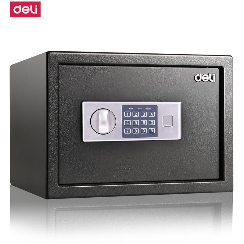 得力 92620 电子密码保管箱(黑) (单位:台)