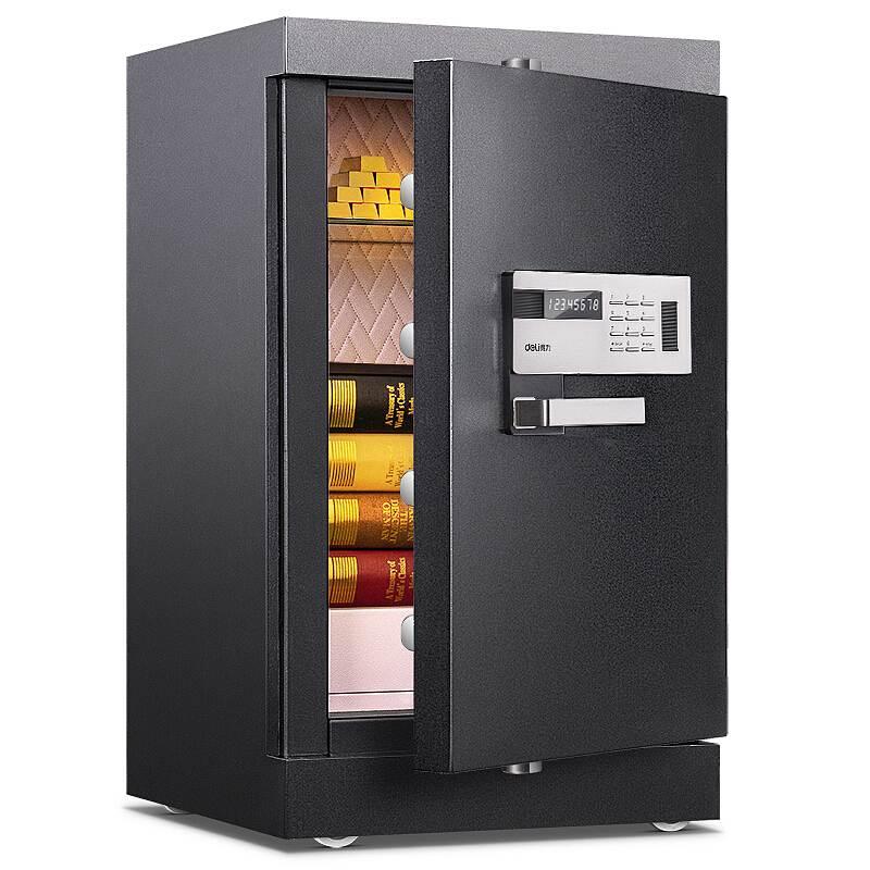 得力4096电子防盗保险柜(黑色)(单位:台)