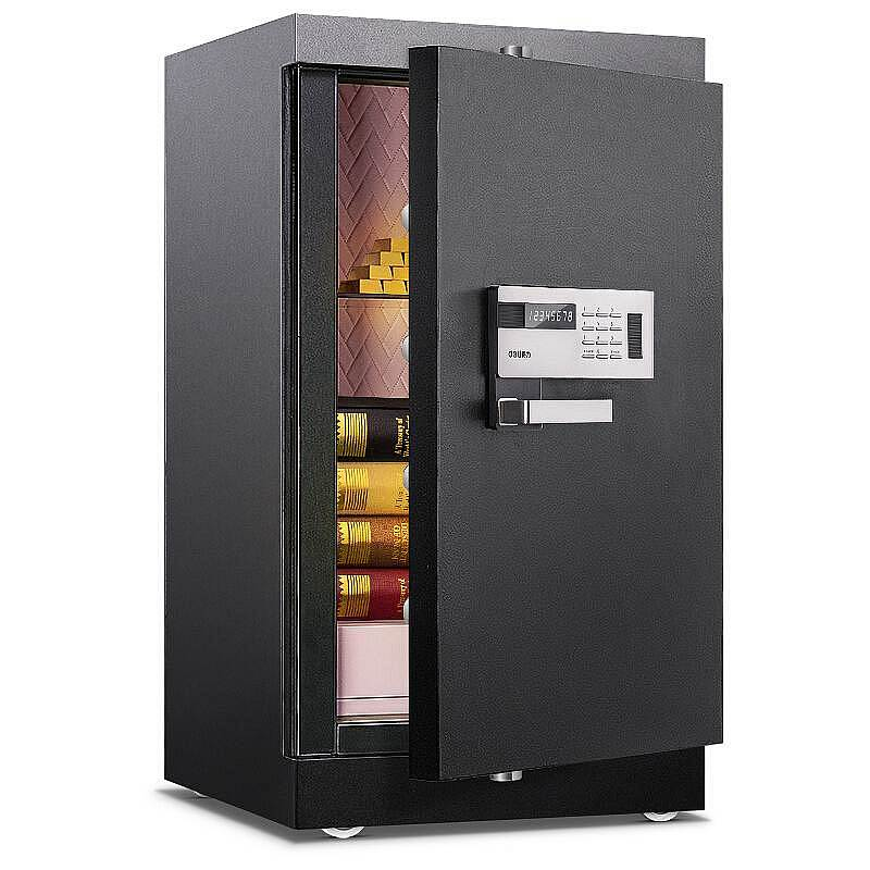 得力4097电子防盗保险柜(黑色)(单位:台)
