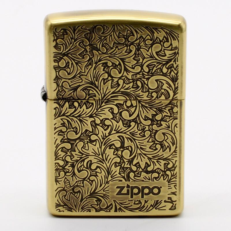 zippo/ZBT2-23B唐草防风煤油打火机古铜色 (单位:个)