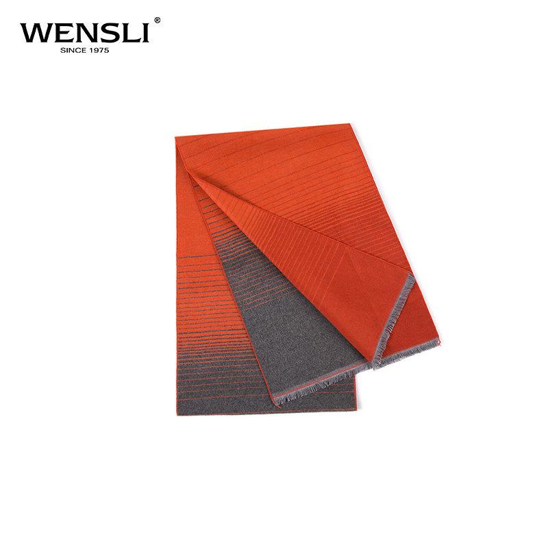 万事利WMG01074151真丝绒围巾-悠然30*200cm(条)