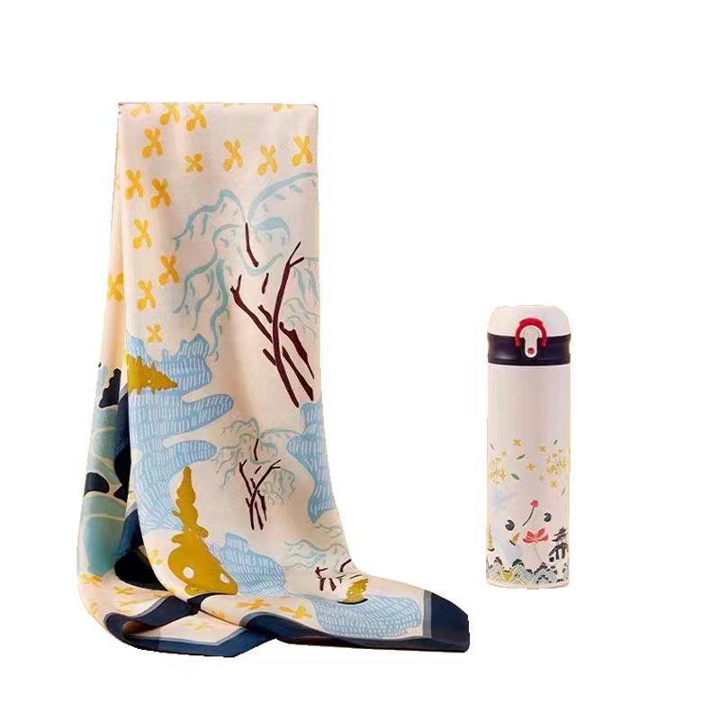 万事利WMG09020105杭城印象-寻桂套装(套)