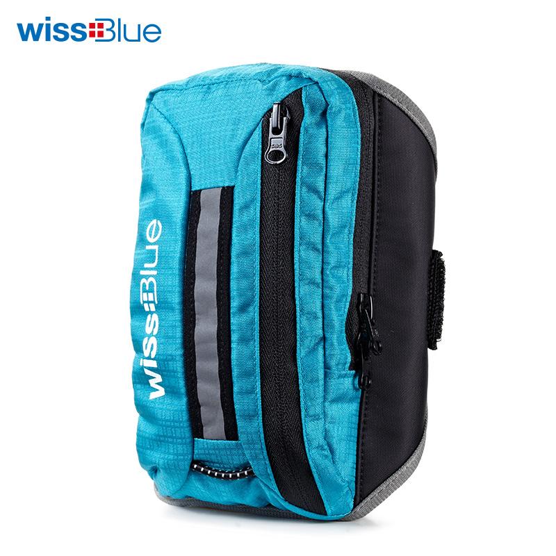 维仕蓝WB1157-B多功能贴身手臂包蓝色(个)