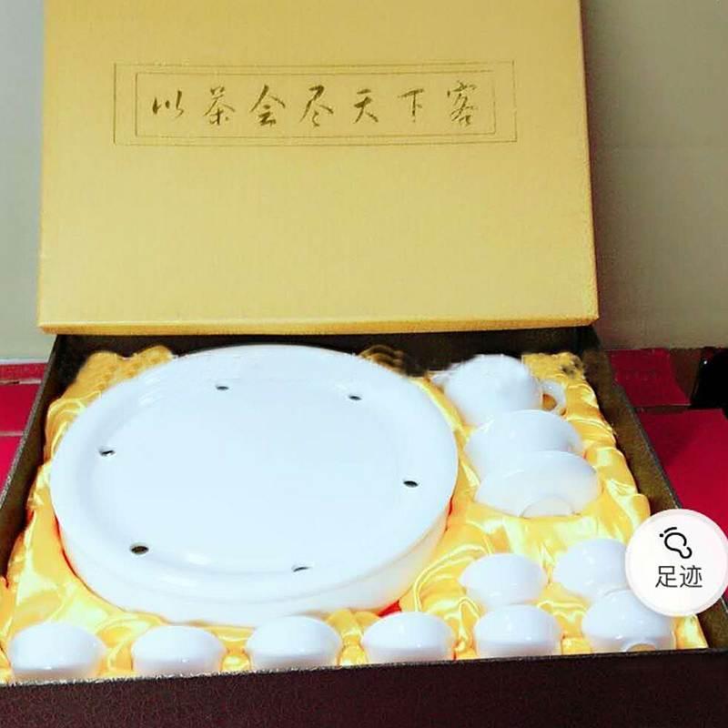 国产HF12-8白色12件套茶具套装(单位:套)