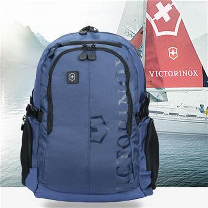 维氏 31105209 休闲双肩背包 蓝色 17寸 (单位:个)
