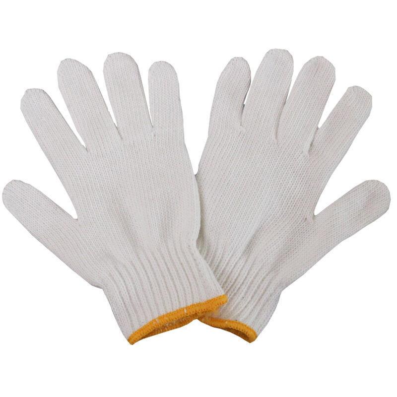 华丰巨箭 HF-6700022 劳保手套加厚耐磨线手套棉纱手套防护手套12副装(包)
