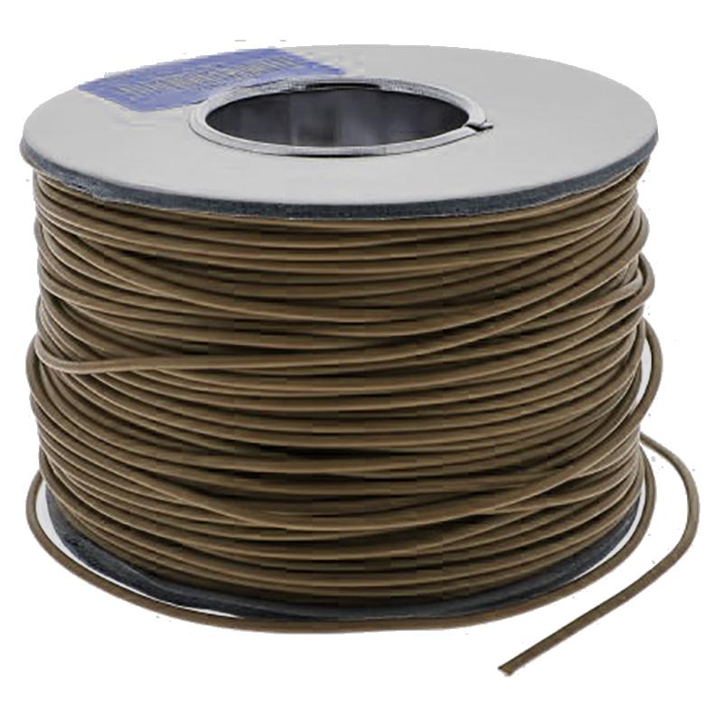 RS Pro 100m长 棕色 18 AWG 2491X 单芯 设备电线, 0.75 mm2 截面积, 24/0.2 mm 线芯绞距, 450/750 V 交流 (单位:卷)
